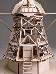 free plans to build a replica of a dutch windmill - Google Search