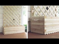 Extra Large Finger Joints - DIY Trellis Garden Box