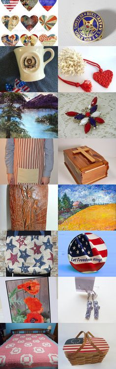 Memorial Day Tribute Treasury by Vicky Larsen on Etsy--Pinned+with+TreasuryPin.com