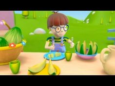 Álex en el huerto mágico: el melón