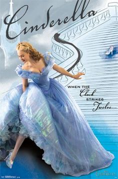 Cinderella 2015 Movie Poster / Print - Stairs PosterSuperstars http://www.amazon.com/dp/B00UGAXRZE/ref=cm_sw_r_pi_dp_6qX7wb0P9VE9X