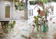 bride and groom table decor - Google Search