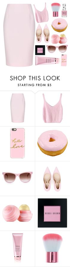 """Без названия #42"" by alisijaa ❤ liked on Polyvore featuring Finders Keepers, Casetify, Wildfox, Sophia Webster, Eos, Bobbi Brown Cosmetics, By Terry and Topshop"