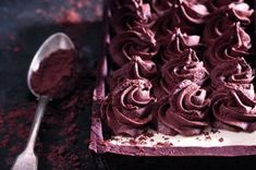 Čokoládovo-kávový koláč