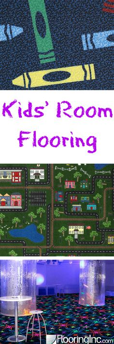 Kids' Room Flooring: Lots of ideas for your little one's perfect bedroom