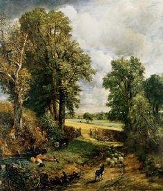 John Constable - el campo de maiz
