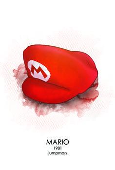 Jump Man Art Print by Head Glitch #nintendo #mario