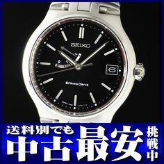 セイコー『スプリングドライブ ファーストモデル』SBWA001 メンズ SS/SS 3ヶ月保証 手巻き【高画質】【中古】b02w/02m/h03 B【楽天市場】