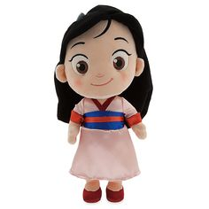 Toddler Mulan Plush Doll - Small - 12'' | Plush | Disney Store