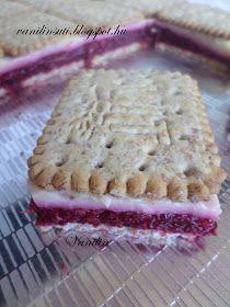 Süss Vanilinnel!: Meggyes-vaníliás kekszsütemény - diétás Pie, Sweets, Bread, Desserts, Food, Torte, Tailgate Desserts, Cake, Deserts