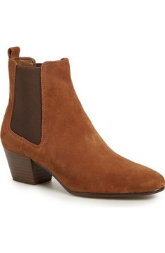 Sam Edelman 'Reesa' Bootie (Women) available at #Nordstrom  color:  black, putty or woodland brown suede