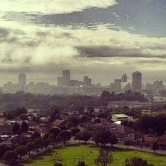 Morning in Johannesburg