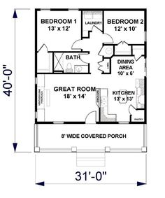 Floor Plan For 992