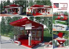 Multifunctional urban pavilion