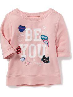 product photo Baby Girl Sweaters, Toddler Sweater, Girls Pjs, Frocks For Girls, Toddler Fashion, Kids Fashion, Old Navy Toddler Girl, Zara Kids, Shirts For Girls