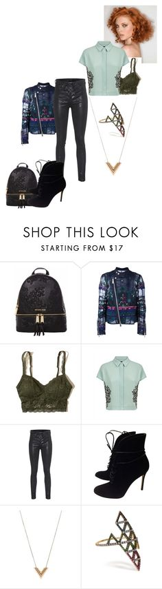"""Lazy Lacie"" by changinglanez ❤ liked on Polyvore featuring Michael Kors, Sacai, Hollister Co., Jaeger, rag & bone, Gianvito Rossi, Louis Vuitton and lito"