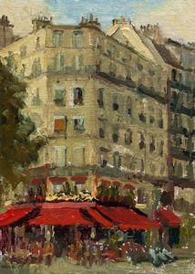 Image of 19. Cafe Near the Champ de Mars
