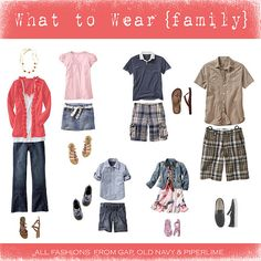 family portrait clothes