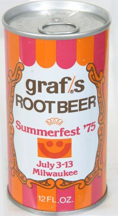 70s Old Grandpa Graf's Root Beer Summerfest '75 Milwaukee