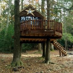 Central Pennsylvania Treehouse | Tree Houses by Tree Top Builders