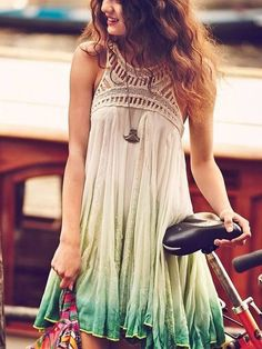 ombre popular casual dresses