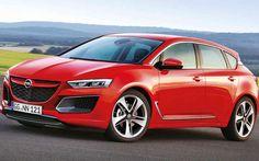 Opel Astra Red Car HD Wallpaper