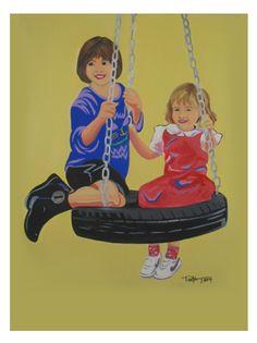 Painting by Tanya Garland