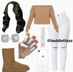 Cute Lazy Outfits, Swag Outfits For Girls, Teenage Girl Outfits, Cute Swag Outfits, Teenager Outfits, Dope Outfits, Teen Fashion Outfits, Girly Outfits, School Outfits