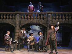 Cincinnati Playhouse in the Park's The Three Musketeers (adapted for the stage by Ken Ludwig)