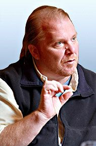 In Mario Batali's Kitchen, You'll Refrain From Shouting (Just another reason to love Mario.)