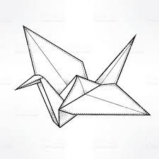 Bird Origami Vector Images Over