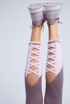 lavender workout leggings