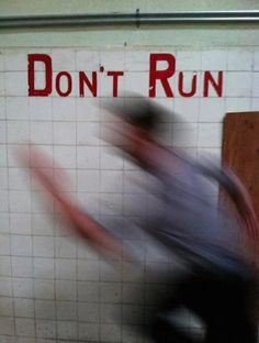 Imagem de run, grunge, and don't run
