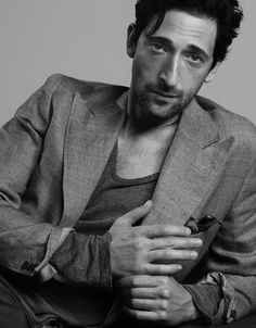 Adrien Brody- I cannot explain how much I love him.