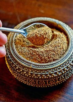 Moroccan Seven Spice Blend - a beautiful mixture of warm, ground spices that include black pepper, ginger, turmeric, cinnamon, cardamom, clove and nutmeg. An exotic and tasty blend for seasoning and dry rubs. keviniscooking.com