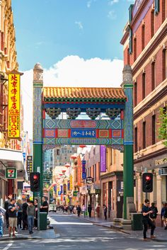 Melbourne Bucket List, Chinatown