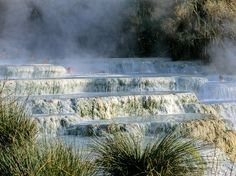 Thanks to the attention heaped on Florence and Siena, this sulphur hot spring hidden in the Tuscan countryside is one of the region's best kept secrets. The water, which stays at a steady 99.5°F all year, flows from a large waterfall and cascades onto the naturally formed travertine rock pools below. It contains sulphur and thermal plankton, and is said to possess healing powers that can cure skin and circulatory ailments. Whether you believe that or not, you'll still enjoy Cascate del…