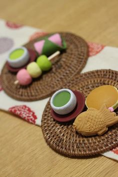 Japanese sweets look-alike erasers