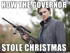 The Walking Dead // Christmas is ruined.