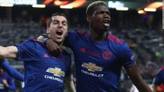 awesome Man United win Europa League final in wake of bombing