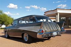 1957 CHEVROLET NOMAD 350 V8 CUSTOM STATION WAGON..Re-Pin brought to you by #CarInsuranceagents at #HouseofInsurance in #EugeneOregon