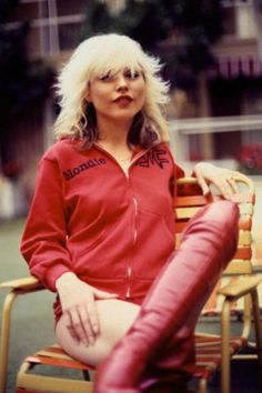 Debbie Harry at the Sunset Marquis Hotel in Hollywood, 1978. Armando Gallo