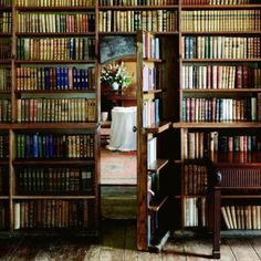 I want a hidden room so bad. If I ever built my own house, it'd have a hidden room without a doubt!!!