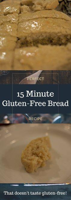 15 minute gluten-free bread