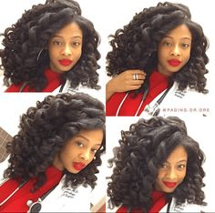 Gorgeous Thick Wand Curls IG:@paging.dr.dre #naturalhairmag