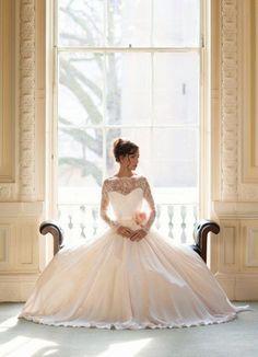 Klasyczna princessa - suknia ślubna z dziecięcych marzeń - Ślub Na Głowie