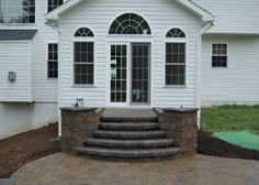 steps and patio perfect - Patio Steps Ideas