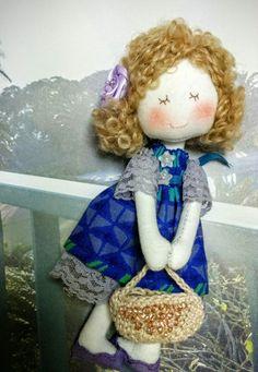 Fashionable mini Doll (Purple)