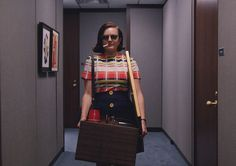 Elisabeth Moss as Peggy Olson in season 7, episode 12 of Mad Men.