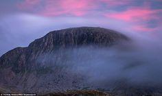 Great Gable mountain, Lake District, England. (by Thomas Heaton)